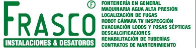 Frasco - Desatoros e Instalaciones de Fontanería logotipo