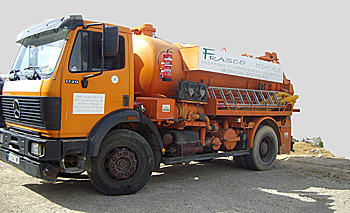 Vehículos con Maquinaria de Alta Presión, especiales para desatascos y desatoros de tuberías